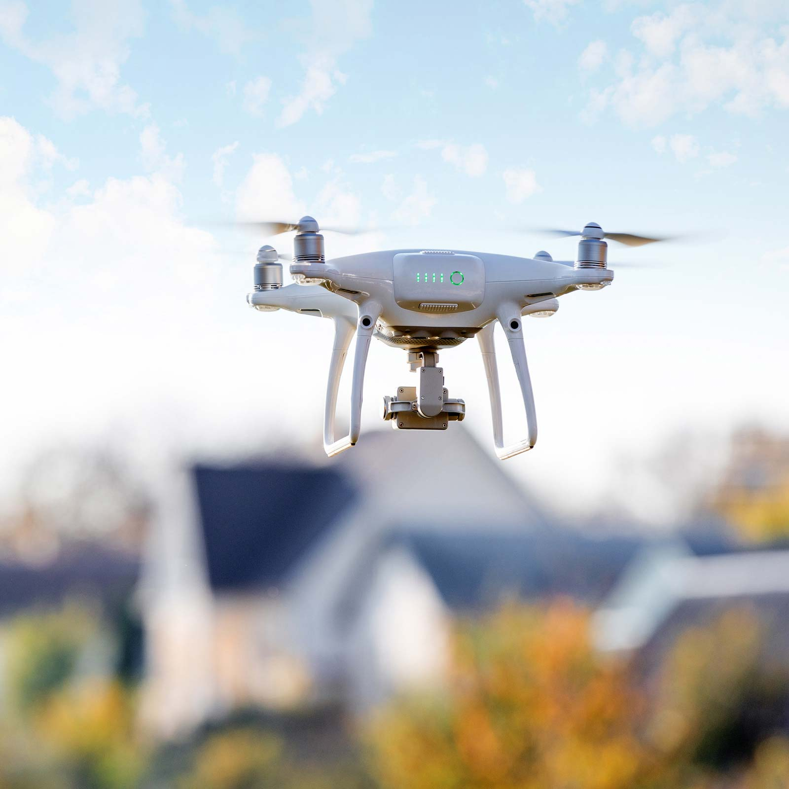 aerial drone photography for home inspections